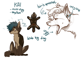 Kai's ref by MikeSketches