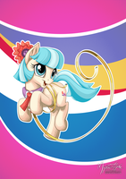 Coco Pommel [horse] by mysticalpha