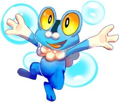 New pokemon Froakie