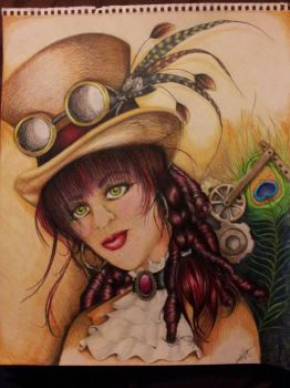 Steampunk Chic....lol by midnightgraphx