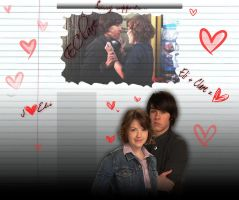 Eli and Clare - EClare :D by Lissyh55