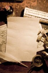 A Pirate's Letter Stock by Jantiff-Stocks