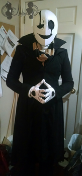 [Cosplay] W.D. Gaster from Undertale :2016: by NobleTanu