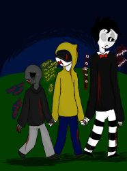 My Crackship Slender Brothers by PurpleNIGHTMARE15234