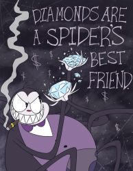 A Spider and Diamonds by Nightmares4Breakfast