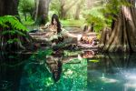Nidalee from League of Legends by Baku-Project
