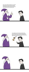 HP: Dumbledore Says by In-The-Machine
