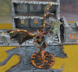 40k/AOS Bloodthirster of insensate rage by Minisnatcher