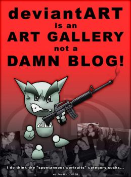 DA is NOT a damn blog by ThoRCX
