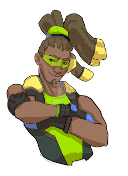 Overwatch Lucio - [commissions are open] by greenisagoodboy