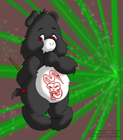 Voldemort Care-Bear by ravenclawyoshi