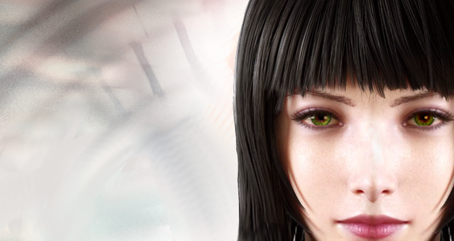 Final Fantasy 15 Black Haired Chick by ScarletR4IN