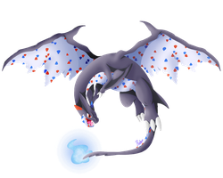[FUSION] Shiny Charizard Y and Togekiss by Pixellem