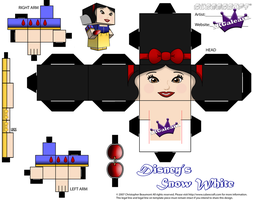 Disney's Princess Snow White Part 1 cubeecraft by SKGaleana