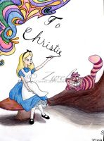 Alice in Wonderland Commission by zwelt