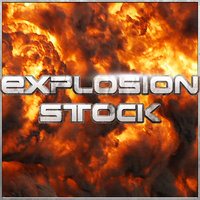 Explosion Stock - Set 3 by JosiahReeves