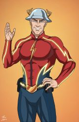 Flash [Jay Garrick] (Earth-27) by phil-cho