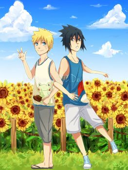 Naruto- Surrounded by Sun by Immature-Child02