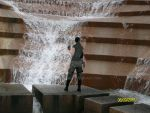 Lara Croft AOD Waterfall