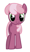 Cheerilee Gives a Smile by J-Brony