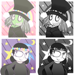 London After Midnight - Flower Crown icons by GlitterClamOpera