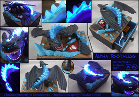 Alpha Toothless by WebsterWorks
