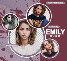 PNG PACK #029 - EMILY RUDD by WOWResources