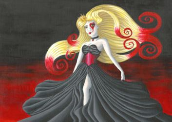 The Queen Of Hearts by VictoriaThorpe