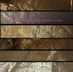 Metallic Gold Textures by Gypsy-Stock