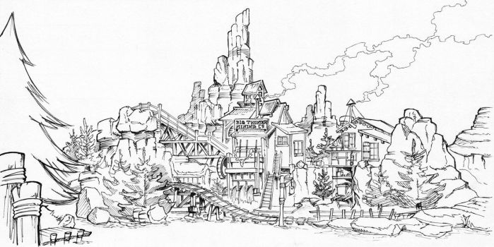 Big Thunder Mountain by Kaloo86