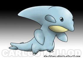 Irukizu. The dolphin PKMN by Dziesma