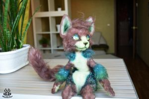 Poseable toy commission for zennilynn by MalinaToys