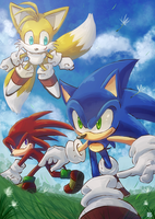 Team Sonic by zegahidemox2