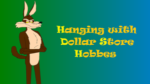 Hanging with Dollar Store Hobbes logo by GMart5