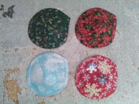 Winter Themed Eye Patches
