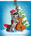 Octavia Seasons Greetings Thank You Card by SouthParkTaoist