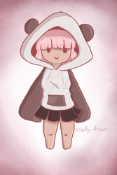 Panda Girl | just to stay active by XTacoLlama