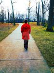 The Girl With The Red Coat by CHSD