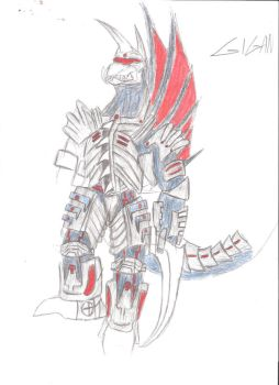 Gigan WIP by Gyaos2008