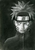 Naruto - Charcoal by Maura-of-BagEnd