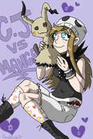Cj VS Manga by SaintsSister47