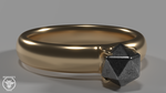 Ring of Good Fortune by IronbeardsForge