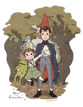 over the garden wall by freestarisis