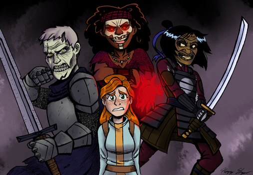 The Badventurers by Harry-Monster