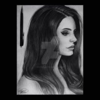 Lana Del Rey by skyesanimation