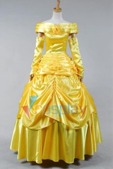 Beauty and the Beast Belle Cosplay Costume by cossteve