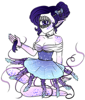 Xynthii Adopt: Jellyfish Dress: Auction: CLOSED by ObsceneBarbie