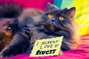 Fluffers goes FIVERR by Lethiel