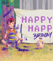 EB: Happy Happy Birthday by saltycatfish