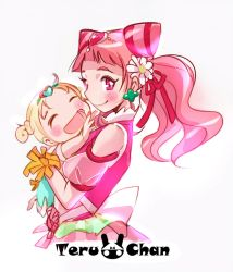 Cure yell and Hugtan by Teruchan